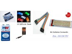 Kit Basic Arduino leonardo